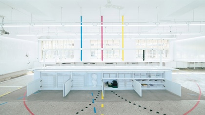 Aesthetic Lab uses four colours