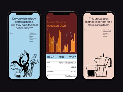 Brewmaster mobile modern clean typography analytics simple kosinov layout app interface illustration ios dashboard